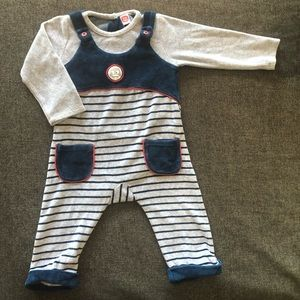 Tuc Tuc baby dungarees 12months